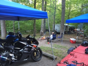 Surly Suzuki's final ride and the maiden voyage of the Harbor Freight trailer for Moto Weekend.